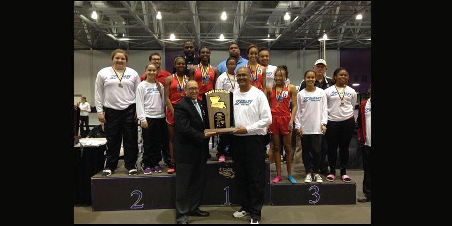 Girls Indoor Track Champions