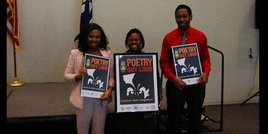 Poetry Out Loud Finalists